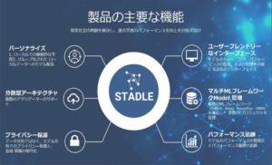 STADLE Dashboard スクリーンショット(製品の主要な機能)